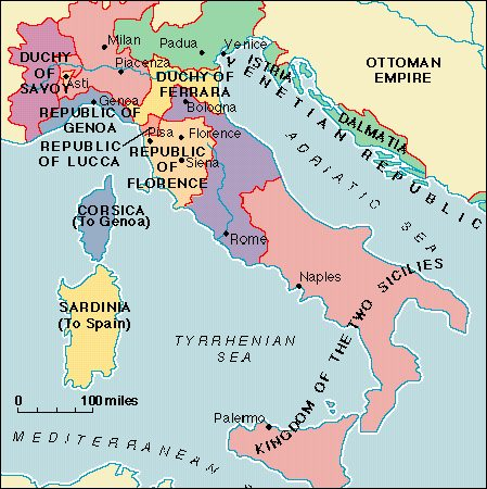 Italy During The Renaissance