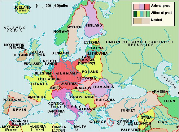 Europe on the Eve of World War II