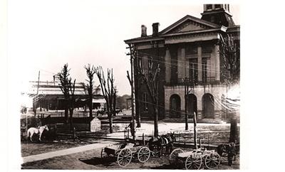 Courthouse, North Facade