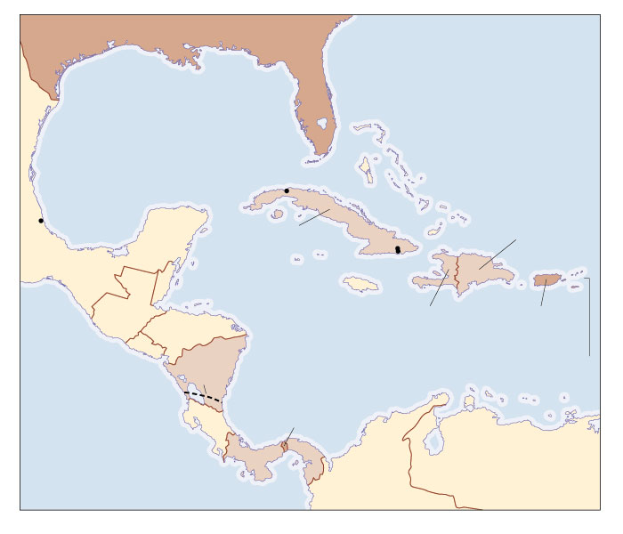 U S Interests In The Caribbean