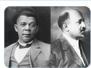 A history of the african americans and the rivalry between web dubois and booker t washington