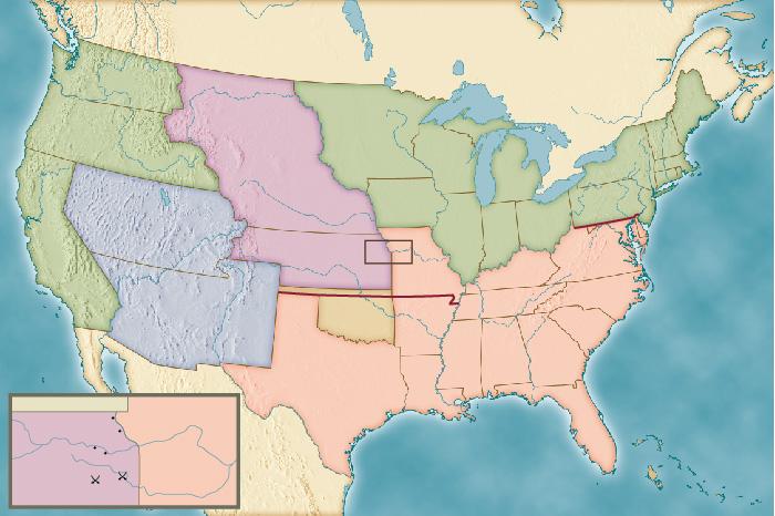 iMap Kansas Neska Act Map on