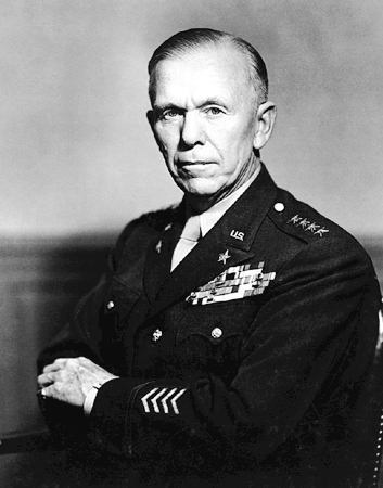 George C. Marshall: Still atop the mountain, but Gates is charging fast...