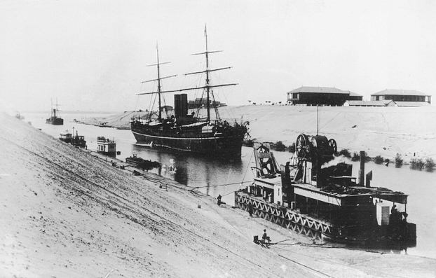 The British established a protectorate in Egypt largely to protect Canal interests, and one of the reservations linked to Egyptian indepedence in 1922 concerned the Suez Canal.