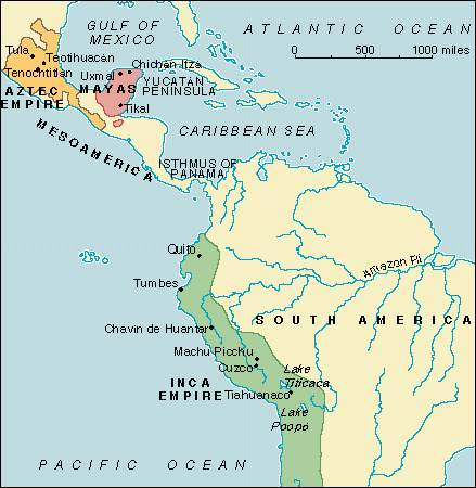 a discussion of the european conquests of the aztec and incan empires Prior to european conquest there were no large draft animals in the americas  since there extinction some time  for a discussion of these.