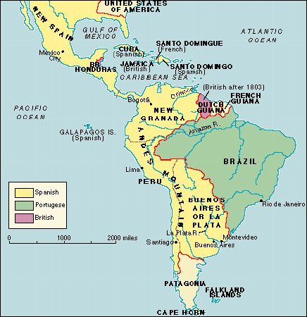 a history of the european expansion in south america The consequences of colonisation of european expansion on the american indigenous population and the in central and south america america, spanish conquest.