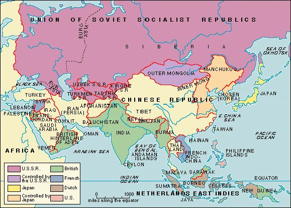 imperialism in asia map my blog. Black Bedroom Furniture Sets. Home Design Ideas