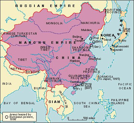 china and japan in the nineteenth century