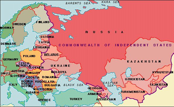 Map/Still:During The Cold War That Developed After World War II, The