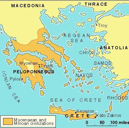 Mycenaean And Minoan Civilizations