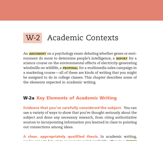handbook of academic writing
